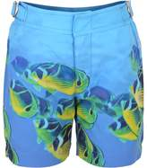 Orlebar Brown Fish Print Swim Shorts