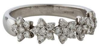 Damiani Diamond Flower Band