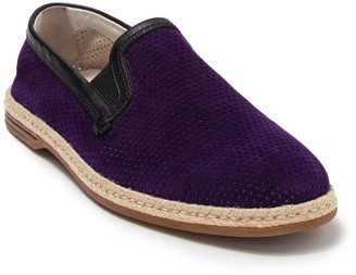Dolce & Gabbana Perforated Suede Slip-On Loafer