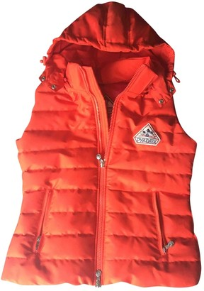 Pyrenex Orange Polyester Leather jackets