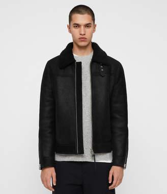 AllSaints Gunstor Shearling Jacket