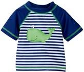 Little Me Whale Rashguard Shirt (Baby Boys)