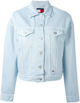 Tommy Jeans flap pocket denim jacket - women - Cotton - XS