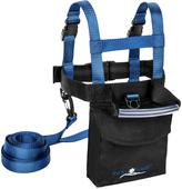 Navy FallLine Ski Trainer Backpack & Green Easy Wedge