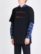 Raf Simons America cotton-jersey T-shirt