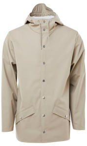 Rains Short Jacket Beige - XXS/XS