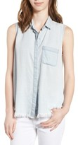 DL1961 Women's N7Th & Kent Sleeveless Chambray Shirt