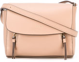DKNY flap shoulder bag - women - Leather - One Size