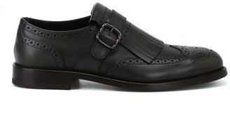 Tod's Monk Strap Brogue Shoes