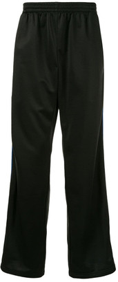 Balenciaga Tracksuit Pants With Side Stripes Have An Elastic Belt