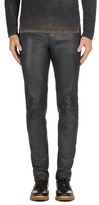 J Brand Tyler Leather Pant in Black