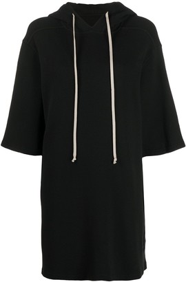 Rick Owens Drawstring Relaxed Hoodie