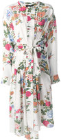 Isabel Marant midi silk flower dress - women - Silk - 38