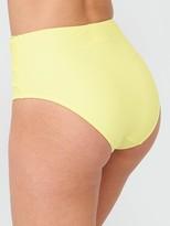 Very Mix & Match Tie High Waist Briefs - Lemon