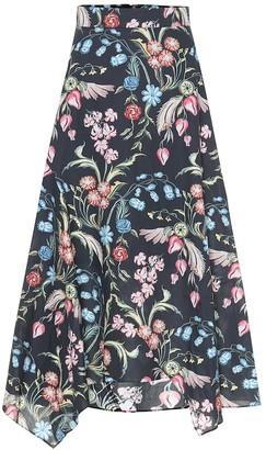 Peter Pilotto Floral-printed midi skirt
