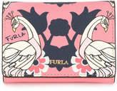 Furla printed billfold wallet