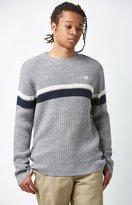 Obey Cheyne Waffle Knit Sweater