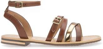 Geox D Sozy B2 Leather Sandals