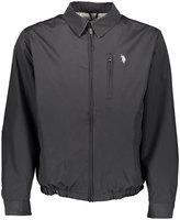 U.S. Polo Assn. Black Small Logo Micro Golf Jacket