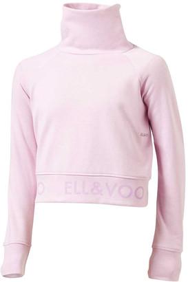 Ell & Voo Girls Rocky Cropped Sweatshirt
