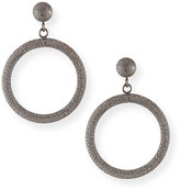 Carolina Bucci 18k Small Round Gypsy Earrings