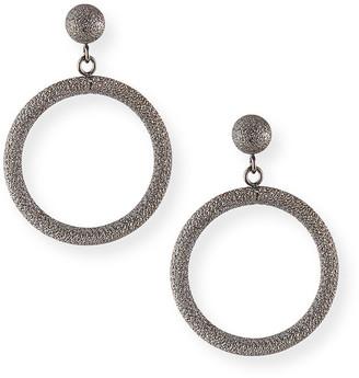 Carolina Bucci 18k Small Round Gypsy Earrings