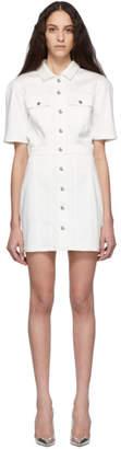 Kreist White Denim Dress