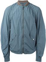 Kolor ruched-sleeve bomber jacket