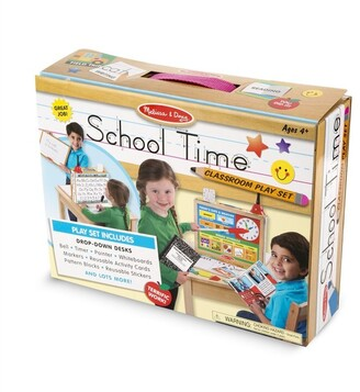 Melissa & Doug School Time! Classroom Playset