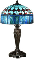 Dale Tiffany Indie Diamond Tiffany Table Lamp