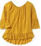 Old Navy Boho Ruffle-Trim Top for Girls