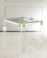 Interlude Miranda Acrylic Backgammon Table