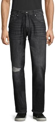 Hudson Jeans Blake Faded Slim-Fit Jeans