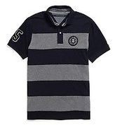 Tommy Hilfiger Men's Custom Fit Graphic Polo