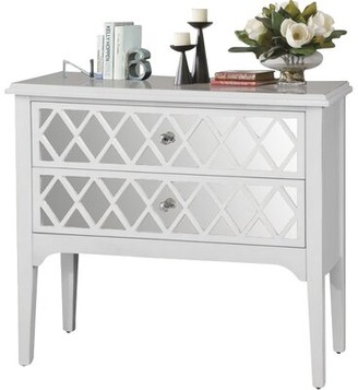 Wildon Home 2 Drawer Wooden Accent Chest