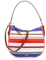 Kate Spade Cobble Hill Collection Mylie Striped Hobo Bag