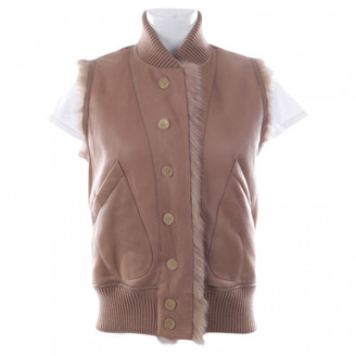 Joseph Beige Leather Jackets