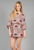 Batwing Dress in Multi Tribal - by Parker