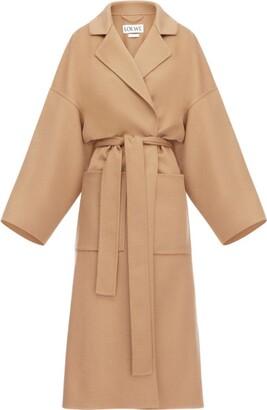 Loewe Oversized Belted Overcoat