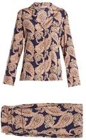Stella-McCartney-Lingerie STELLA MCCARTNEY LINGERIE Poppy Snoozing paisley-print pyjama set