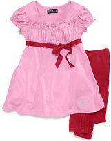 GUESS Set, Little Girls Baby Doll Top and Leggings