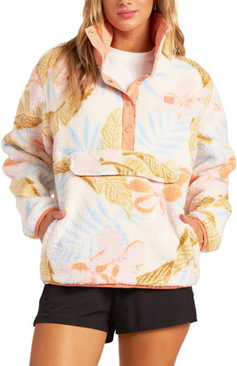 Billabong Switchback Faux Fur Pullover
