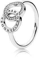 Pandora Circles Ring - Sterling Silver / Cubic Zirconia