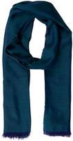 Loro Piana Tricolor Cashmere & Silk-Blend Shawl w/ Tags