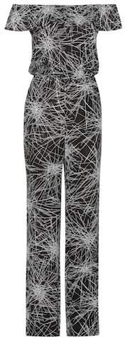 Diane von Furstenberg Adele printed jumpsuit