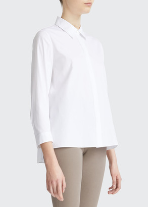 Theory Trapeze Menswear Shirt