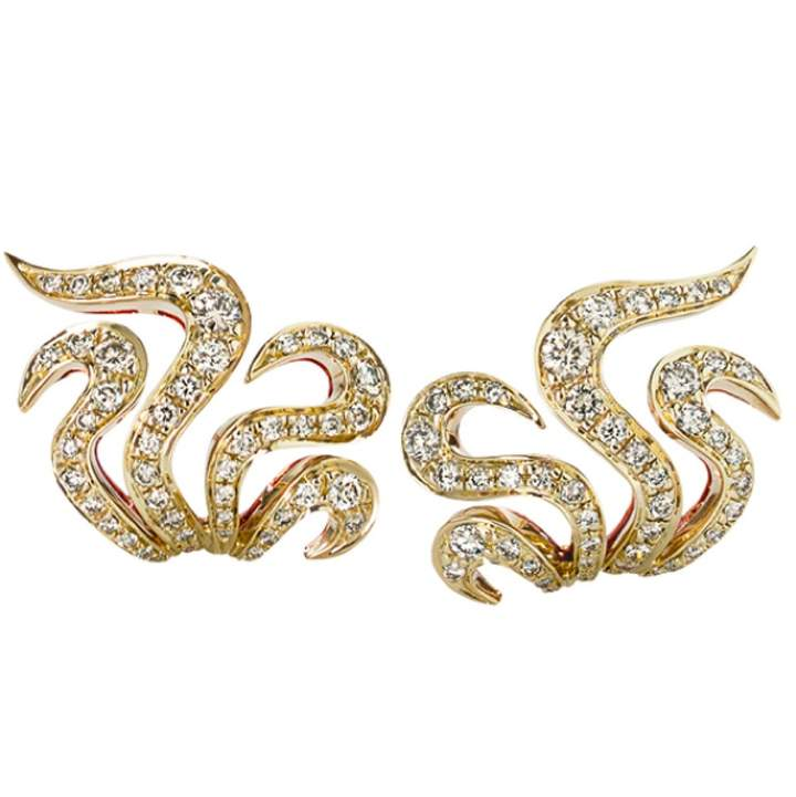 H.Stern Other Pink gold Earrings