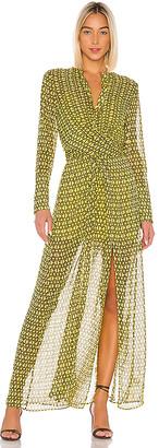 L'Academie The Lumiere Maxi Dress