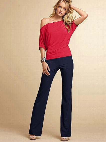 Victoria's Secret Crepe Wide-leg Pant