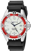 Momentum Women's Quartz Watch | M1 Splash by Momentum| Stainless Steel Watches for Women | Dive Watch with Japanese Movement & Analog Display | Water Resistant ladies watch with Date –Lume / Red Rubber